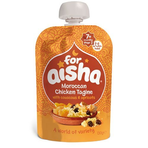 For Aisha  Moroccan Chicken Tagine Couscous & Apricots 130g x 6