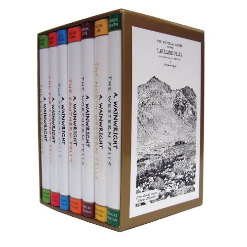 Pictorial Guide To the Lakeland Fells Collection 7 Books Set