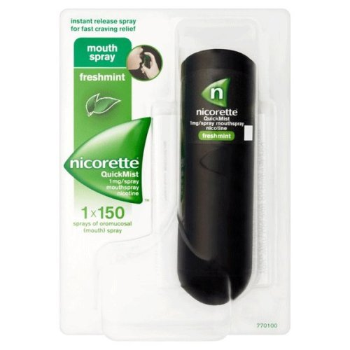 Nicorette Quickmist 1mg Mouthspray Freshmint