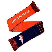 Forever Collectibles Denver Broncos Fade Nfl Scarf -  denver broncos scarf nfl fade official