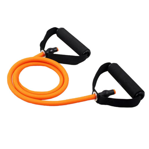 High-elastic Resistance Fitness&Exercise Band Shaped Rope Expender Orange