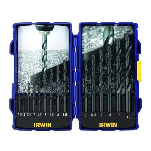 Irwin XMS16HSS HSS Drill Bit Set 15 Piece Drilling