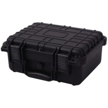 vidaXL Protective Equipment Case 35x29.5x15 cm Black