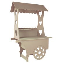 KuKoo Candy Cart Wedding Sweet Stall