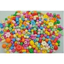 Pbx2470817 - Playbox - Wooden Beads (pastel ) - 250g