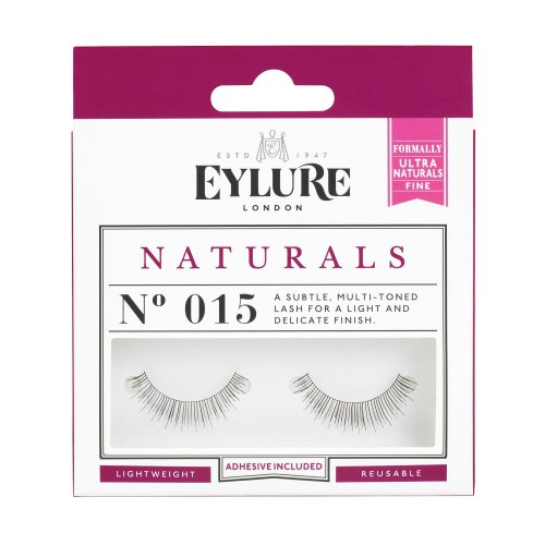 Eylure No. 015 (Naturals) was Ultra Fine Strip Lashes