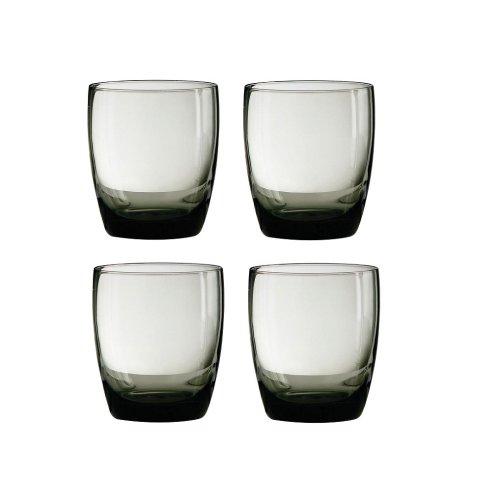Mixer Glasses - Smoke Grey, Set of 4