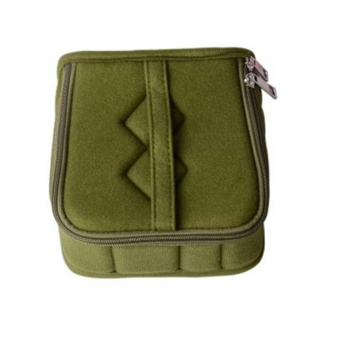 13-Slots Essential Oil Carrying Case - Oil Cases For Essential (ArmyGreen)