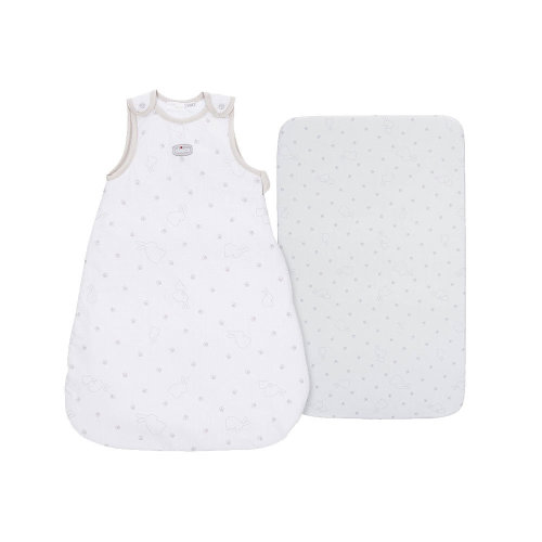 Chicco Sleeping Bag and Next To Me Fitted Sheet Set - Fairy Tale