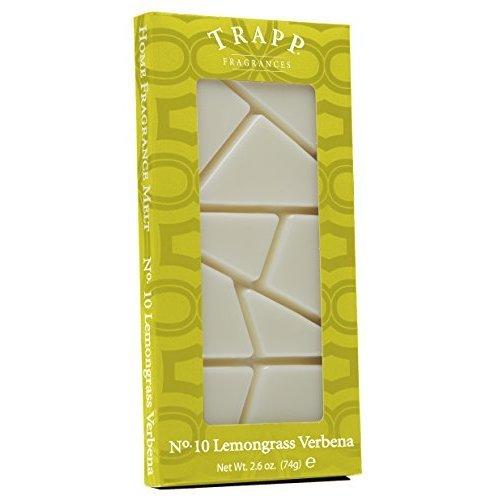 Trapp Home Fragrance Melt No 10 Lemongrass Verbena 2 6Ounce