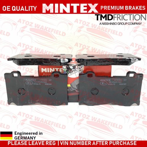 FOR INFINITI FX37 FX50 Q50 Q60 Q70 FRONT PREMIUM MINTEX BRAKE PADS SET BRAND NEW