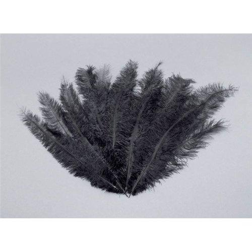 Blondine Feather. Black 12/pkt.
