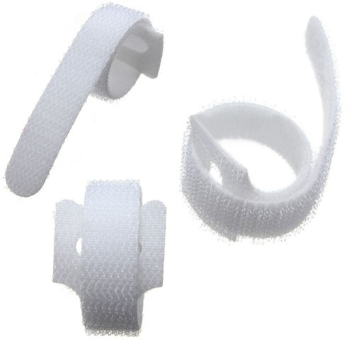 04121f05b0bc VELCRO® Brand Cable Ties One Wrap Double Sided Straps White on OnBuy