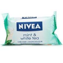12 x NIVEA Mint & White Tea Care Soap 90g Each