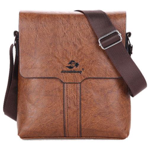 Men PU Leather Fashion Business Briefcase