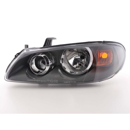 Nissan Almera 2003-2006 Black Headlight Headlamp Passenger Side Left