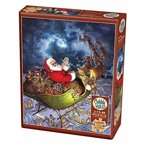 CBL88025 - Cobblehill Puzzles XL 275 pc - Merry Christmas to All