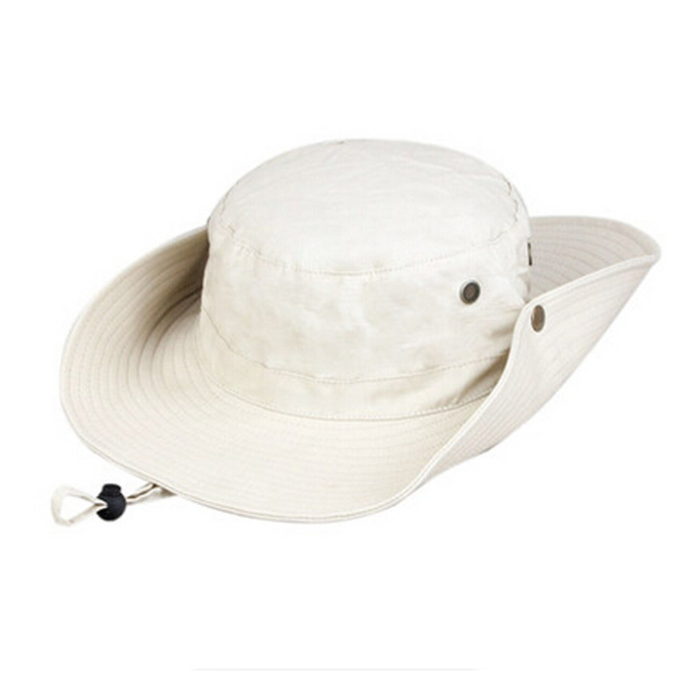 f17a348664 Men s Foldable Cowboy Hat Travel Sun Hat Fishing Hats Bucket Hat