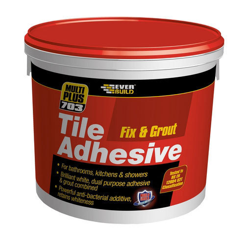 Everbuild 703 Fix And Grout Tile Adhesive 1 Litre