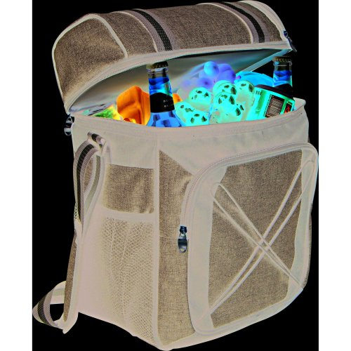 24 Litre Cool Bag with Extra Top Insulated Compartment