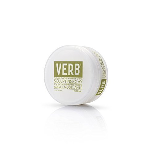 Verb Sculpting Clay Flexible Hold Subtle Shine 2Oz