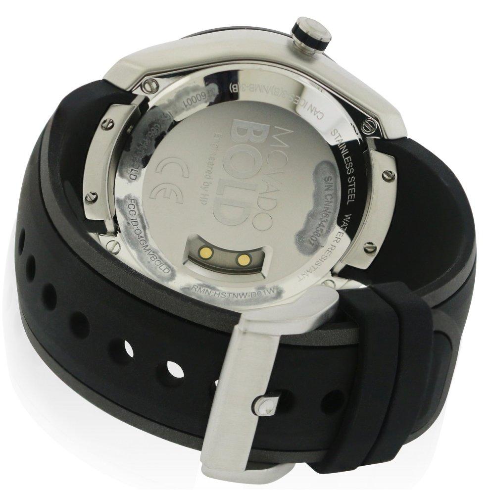Movado Bold Motion Silicone Smartwatch Mens Watch 3660001