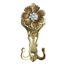 2 Pieces Curtain Flower Decorative Buckles/Holders, NO.8(17*7cm)