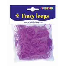* Playbox - Loops (Loom Bands)- 500pcs purple