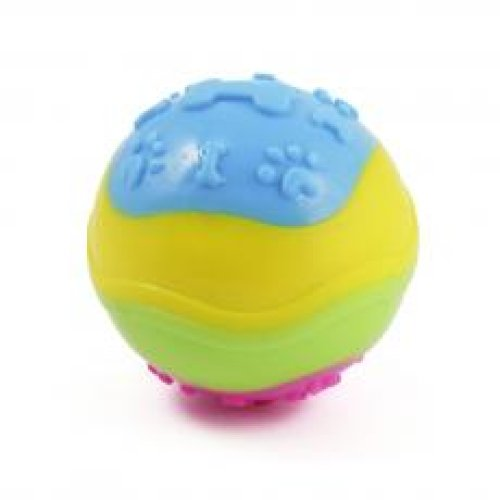 Ancol Bright Ball 9cm (Pack of 3)