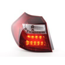 Led Taillights BMW serie 1 E87/E81 3/5-Dr. Year 04-06 clear/red