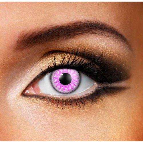 Solar Violet Contact Lenses – Coloured Contact Lenses