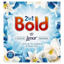 Bold 2-in-1 Lotus Flower & Lily Lenor Fresh Cleaning Washing Powder - 22 Washes
