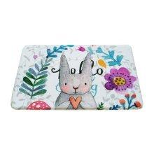 Cute Rabbit Kids Room Carpet Home Rug/Mat for Any Room