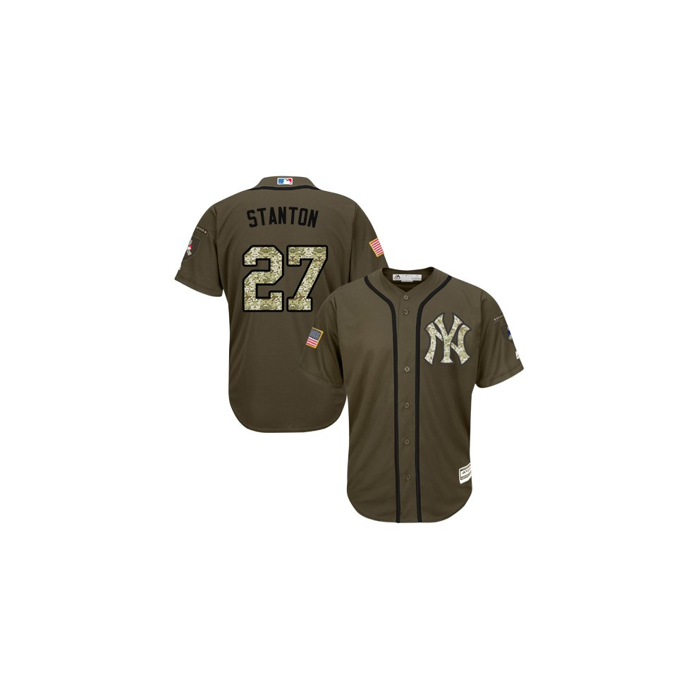 quality design 97a97 d14c1 New York Yankees Cool Base MLB Custom Salute To Service ...