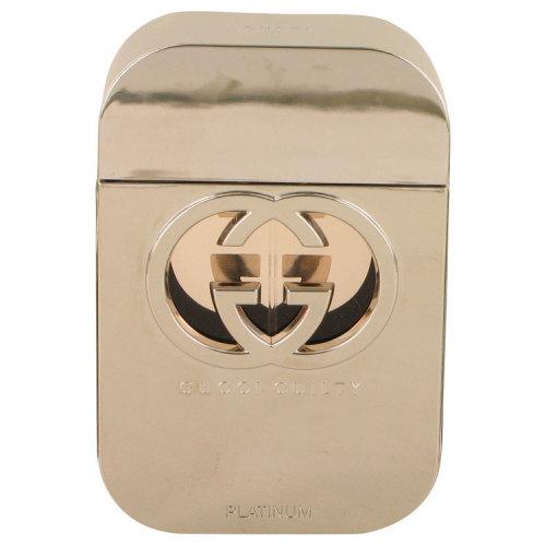 Gucci Guilty Platinum by Gucci Eau De Toilette Spray (Tester) 2.5 oz
