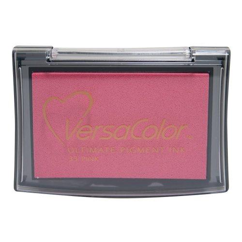 Tsukineko Versacolor Pigment Ink Pad - Pink