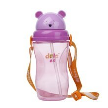 Simple Baby Sippy Cup Children Spout Training Cup Infant Bottle PURPLE