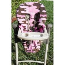 SpecialTex CS-HCSP-PI CAMO CleanSeat High Chair Cover PINK CAMO