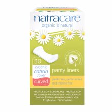 Natracare  Natural Panty Liners Curved 30s