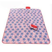 Waterproof Picnic Blanket Red Large Travel Blanket 57 X 71 Inch