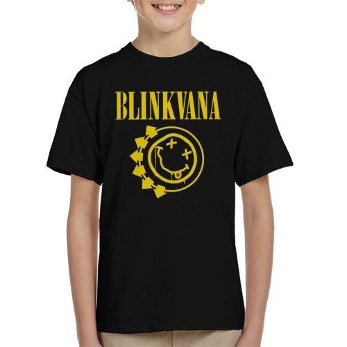 Blinkvana Blink 182 Nirvana Kid's T-Shirt