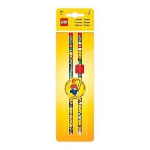 LEGO Pack of 2 Lego Branded Pencils