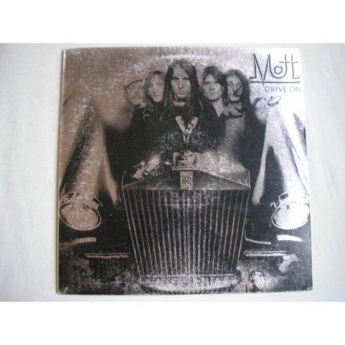 MOTT - Drive On UK LP + insert 1975 ex+/vg