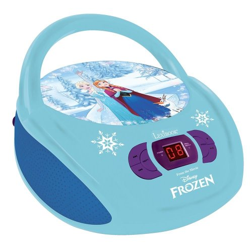 Lexibook RCD108FZ Portable Disney Frozen Boombox Radio CD Player