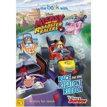 PERSONALISED Disney Mickey Roadster Racers Story Book