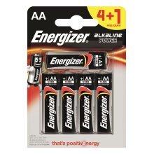 5 x Energizer AA Alkaline Power Plus Batteries LR6 MN1500 MIGNON STILO