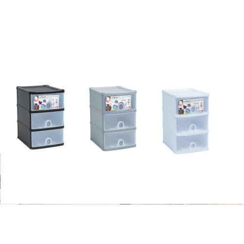Wham Handi Drawer Plastic Storage Container Box Tidy Organizer Tower Rack Unit On