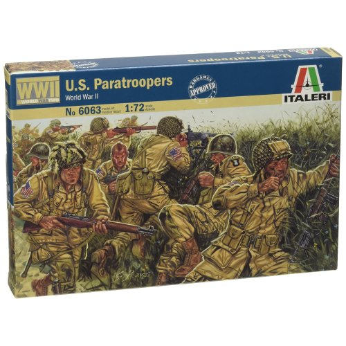 The Hobby Company Italeri 510006063 WW2 1: 72 US Paratroopers