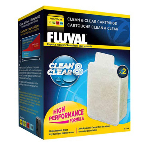 Fluval U Clean and Clear Cartridge (2 Pack)