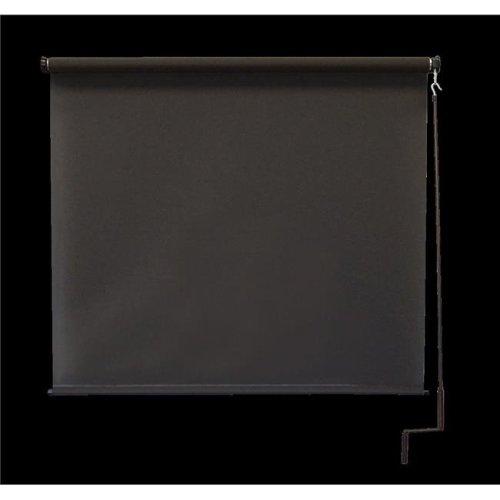 Keystone Fabrics O77.78.90 7 x 8 ft. Regal Cordless Outdoor Sun Shade - Mahogany